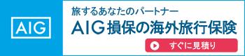 AIG海外旅行保険